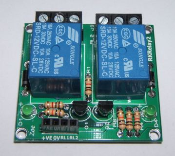 RKRelay2 Relay Module - Great for Atmel, Arduino & Raspberry PI - Self Build Kit